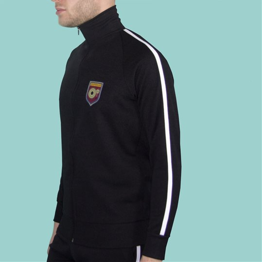 Black Tracksuit Top