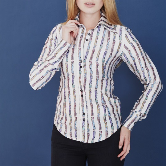 Silk Train Shirt