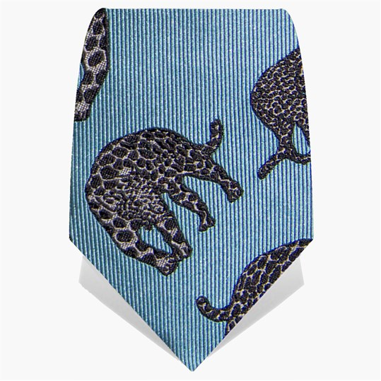 Blue Panther Tie