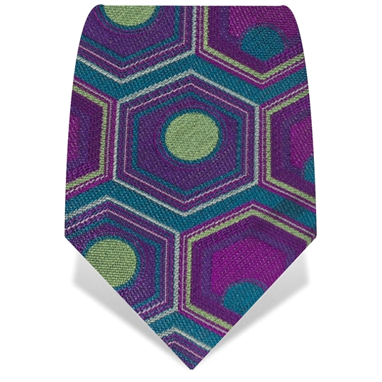 Purple & Green Sooky Sooky Tie
