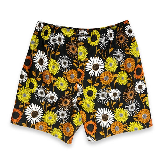 Retro Flower Boxer Shorts