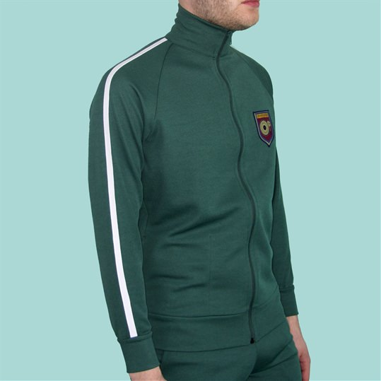 Bottle Green Tracksuit Top