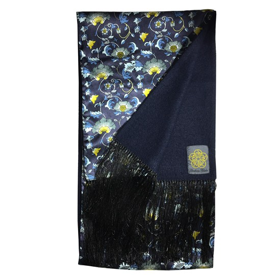 Wallflower Floral Silk Scarf