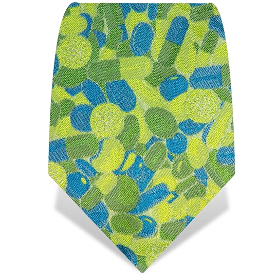 Lime Pills Tie