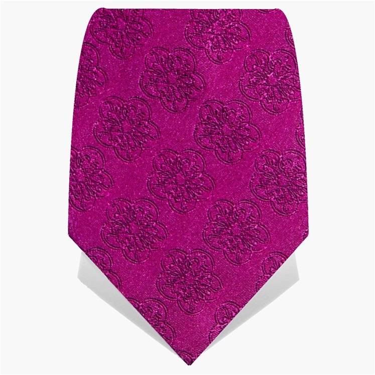 Hot Pink GB Logo Tie