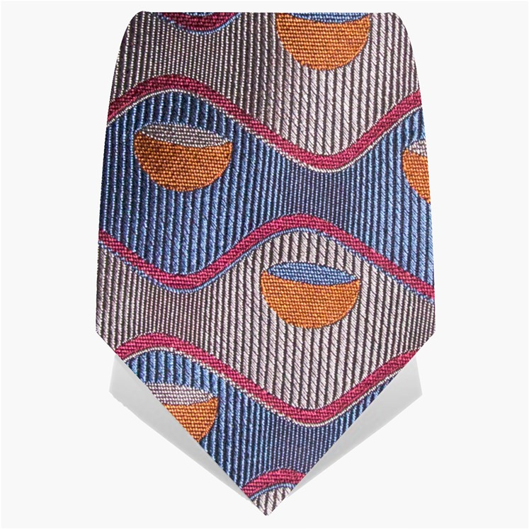 Steel Retro Bowl Tie