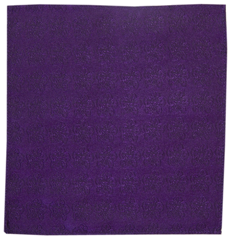 Plum GB Logo Pocket Square
