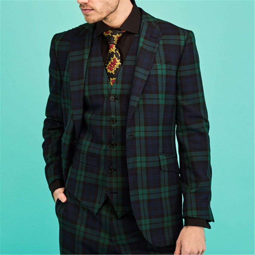 Blackwatch Tartan Jacket