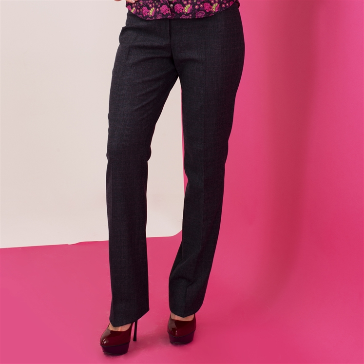 Ladies Blue Prince of Wales Trouser