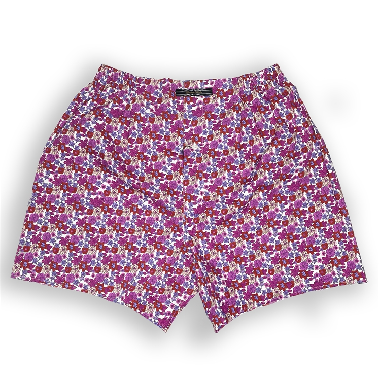 Pink Meadow Boxer Shorts