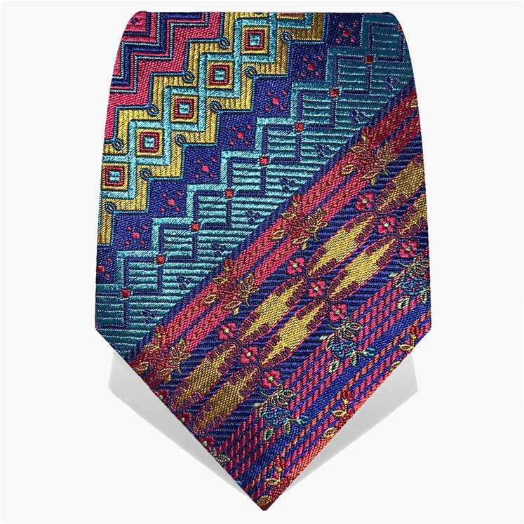 Red & Yellow 'Explorer' Tie