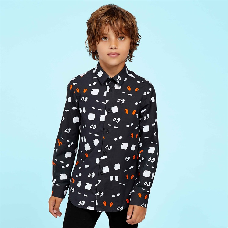 Cartoon Eyes Shirt