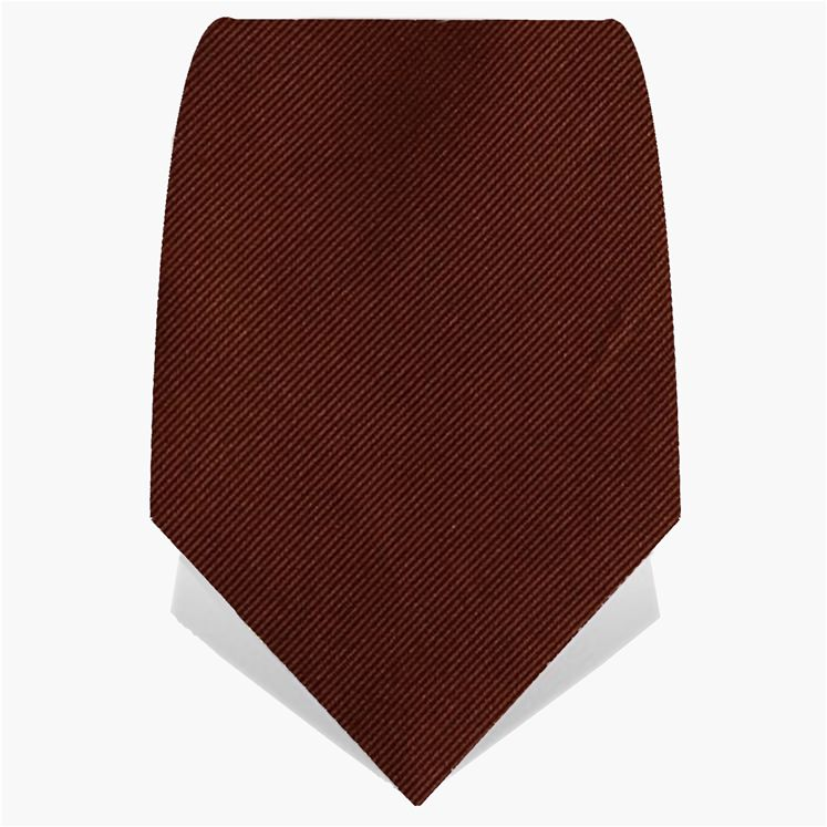 Brown Classic Tie