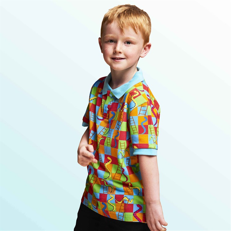 Unisex Snakes & Ladders Polo Shirt