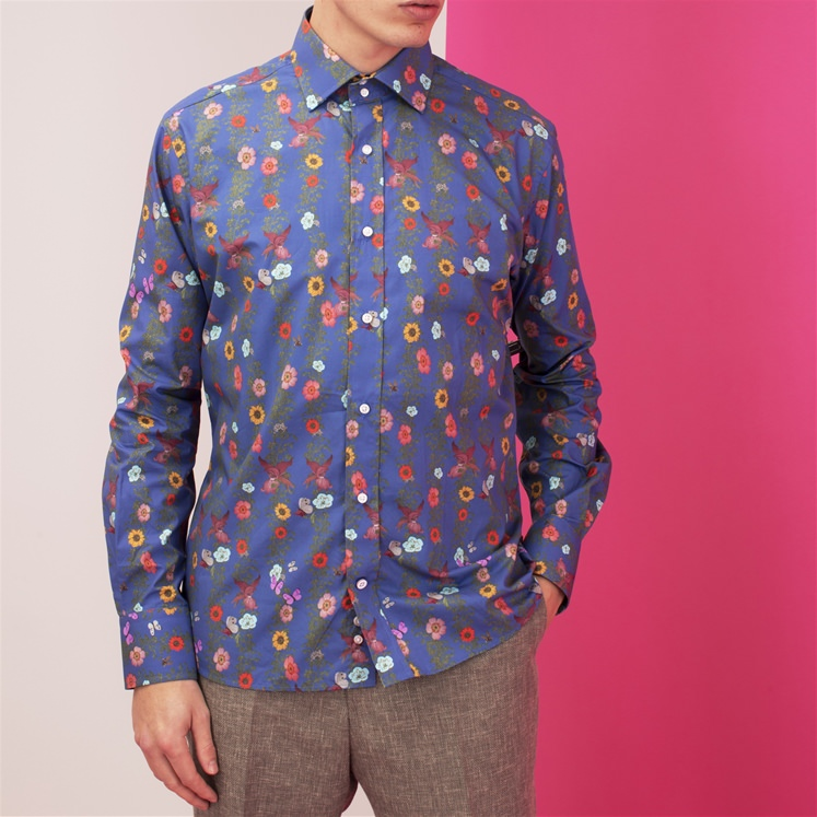 Blue Vine Shirt