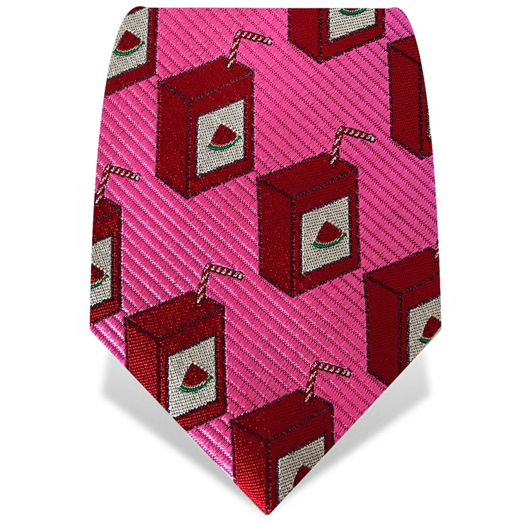 Pink & Red Watermelon Juice Tie