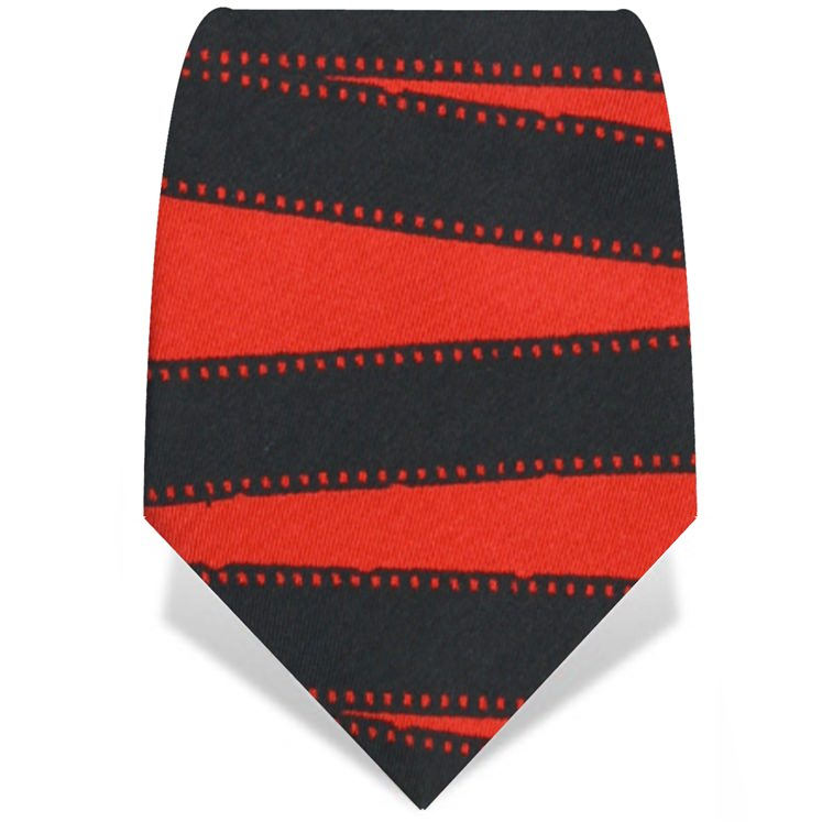 Film Strip Tie Red