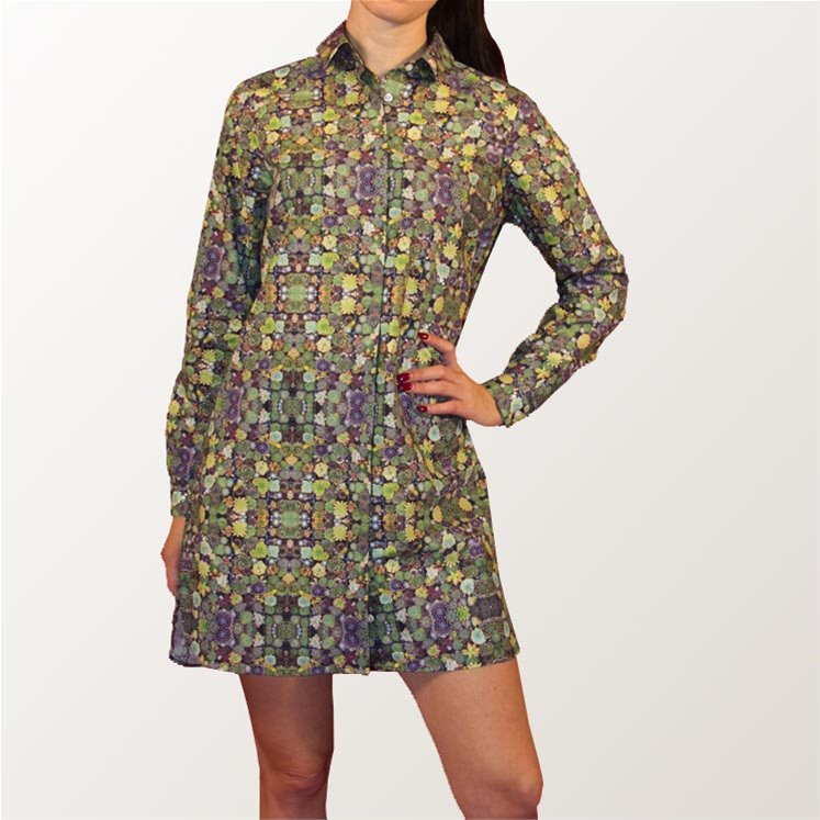 This Is Not A Cactus Shirt Dress