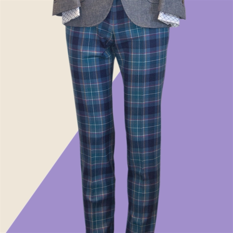 Brighton And Hove Tartan Trouser