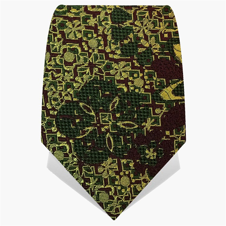 Green Psychedelic Tie
