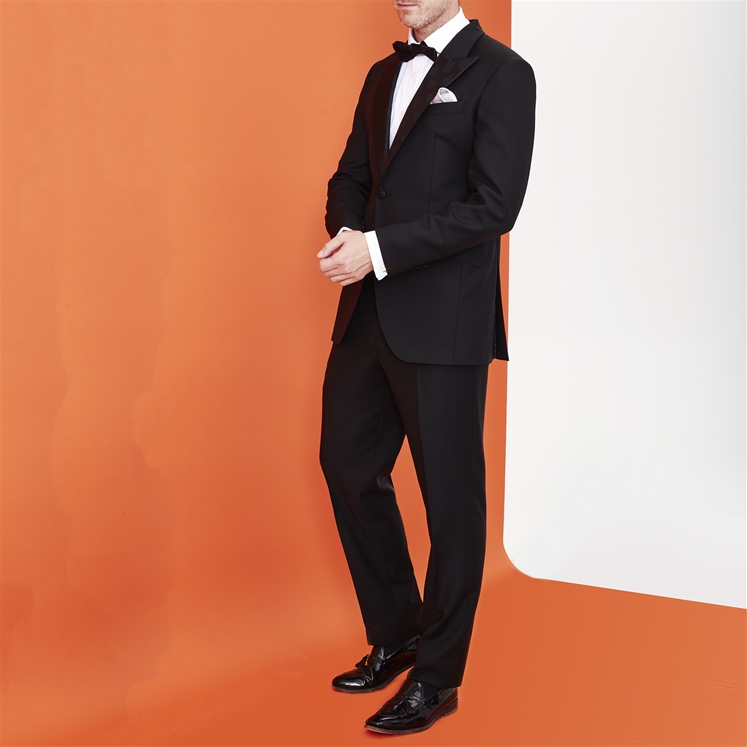 Silk Lapel Dinner Suit