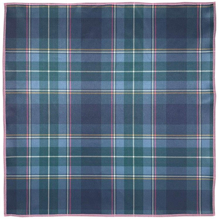 Brighton & Hove Tartan Pocket Square
