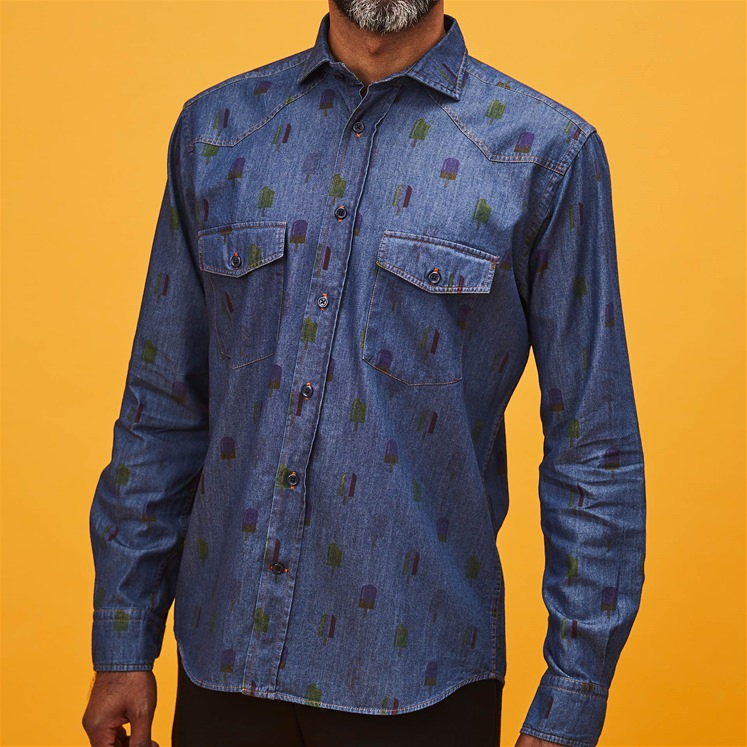 Denim Lolly Shirt