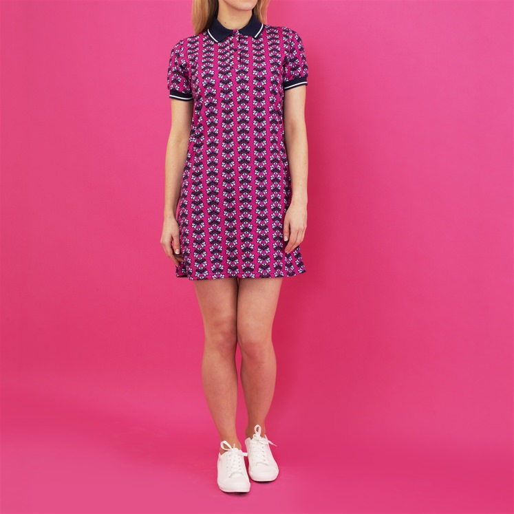 Kaleidoscope Polo Dress