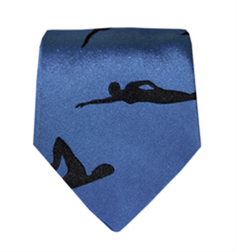 Swimmers Tie Blue