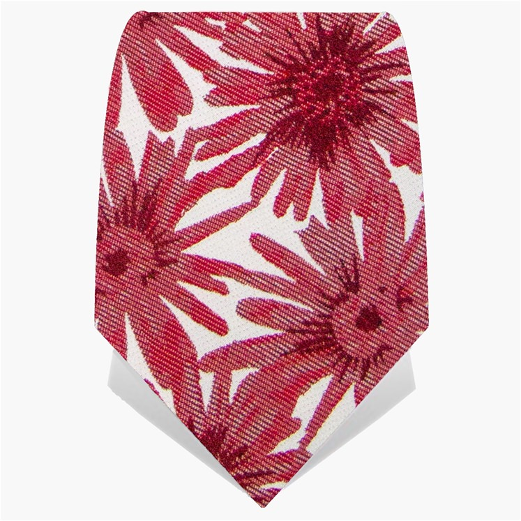 Red Daisy Tie