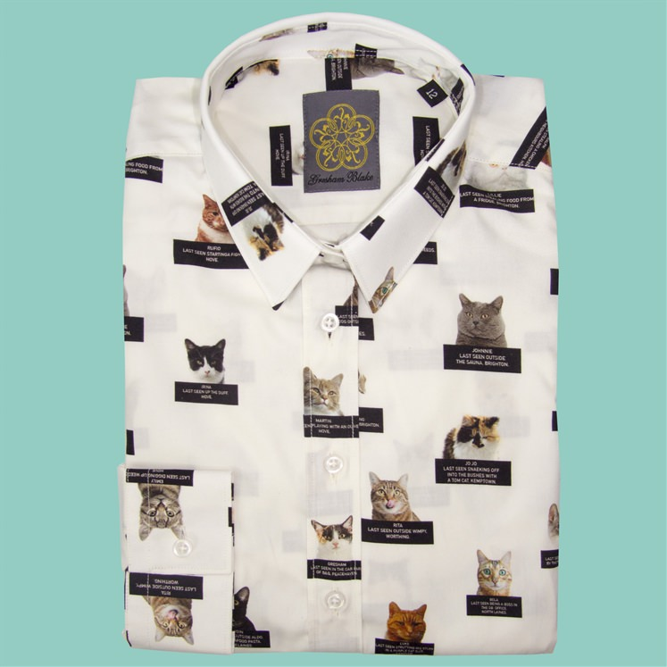 Womens Lost Cats of Brighton Shirt