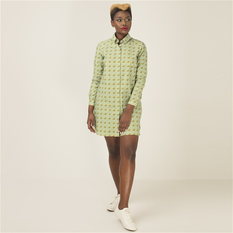 Ladies Bespoke Shirt Dress