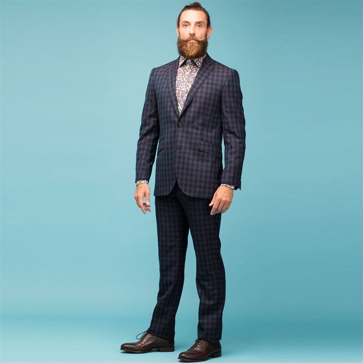 Jura 2pc Check Suit