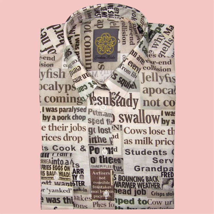 Womens Broadsheet Shirt