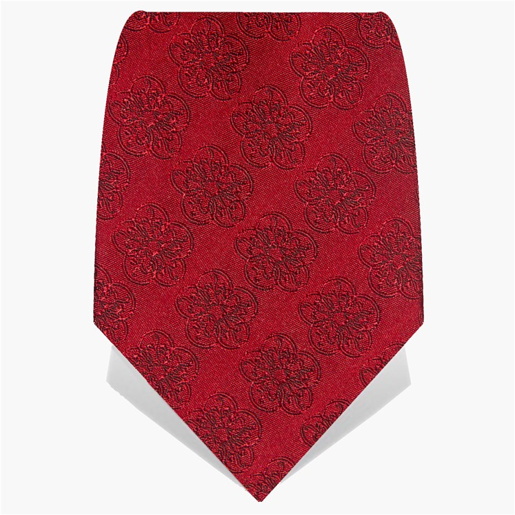 Pillar Box Red GB Logo Tie