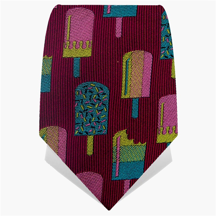 Burgundy Lollies Tie