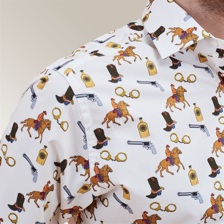Cowboy Tattoo Shirt