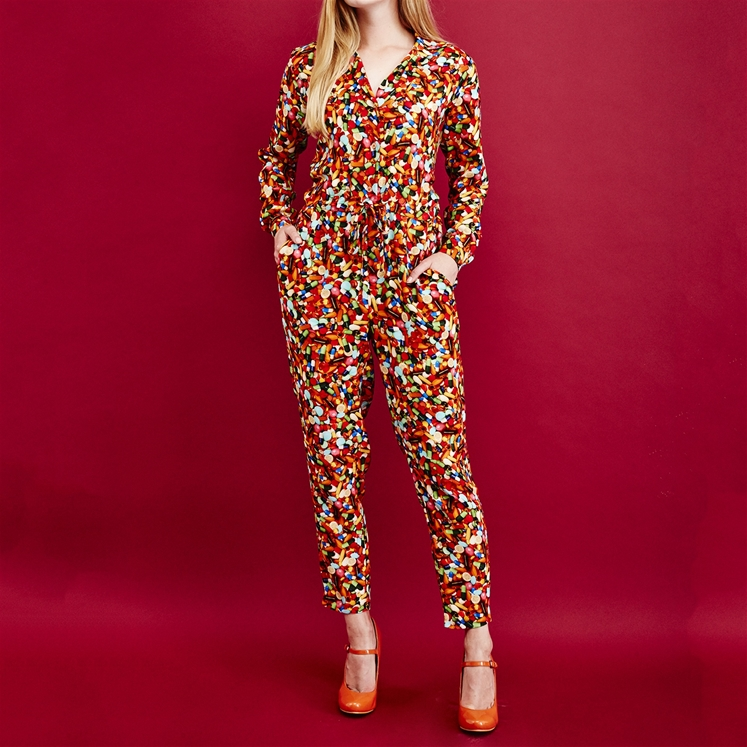 Pills Print Jumpsuit - COMING SOON