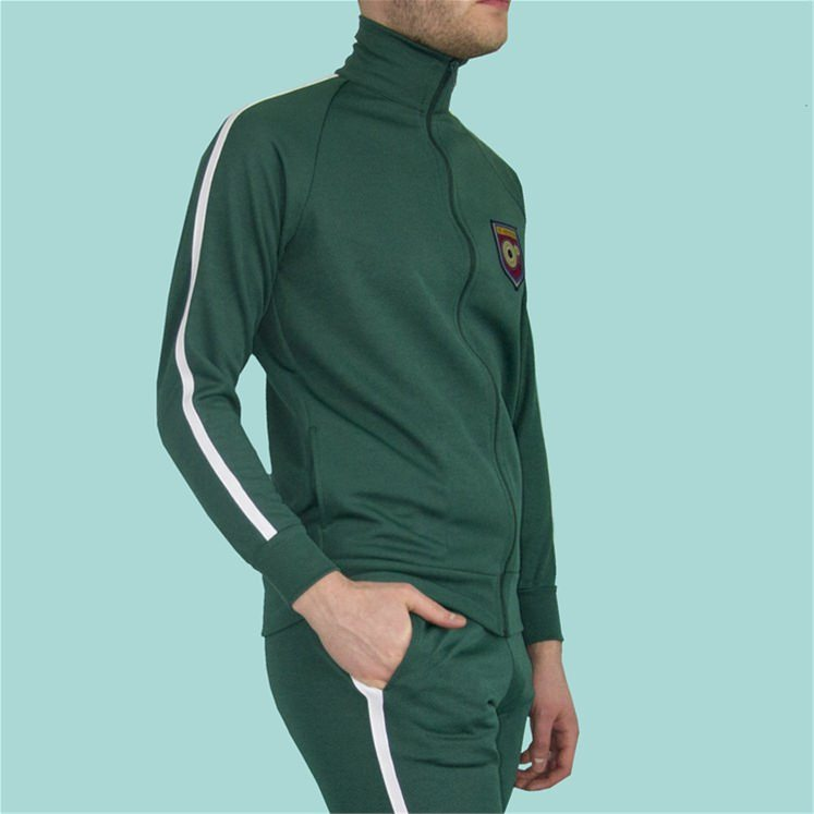 Bottle Green Tracksuit Bottoms