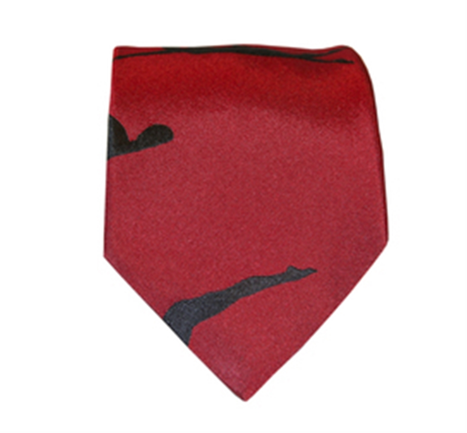 Swimmers Tie Red