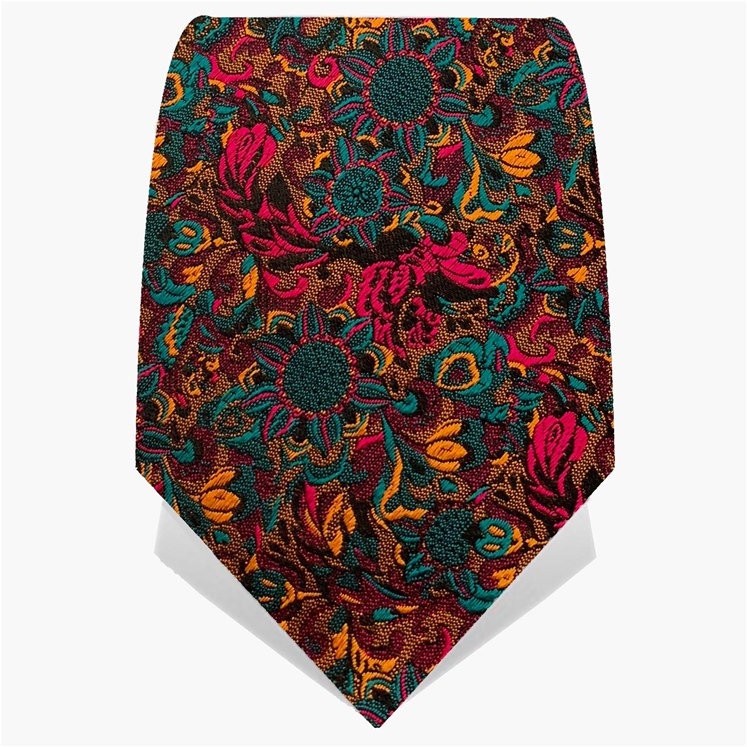 Yellow Psychedelic Crow Tie