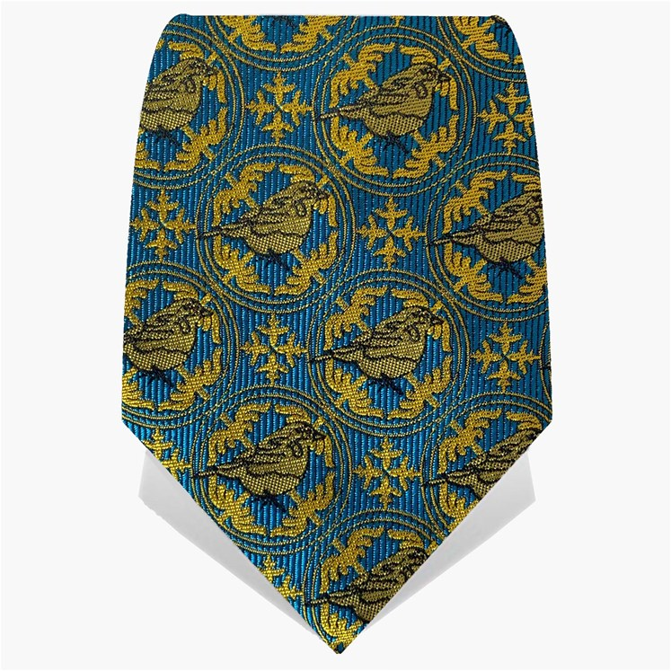Blue & Yellow Blue Tit Tie