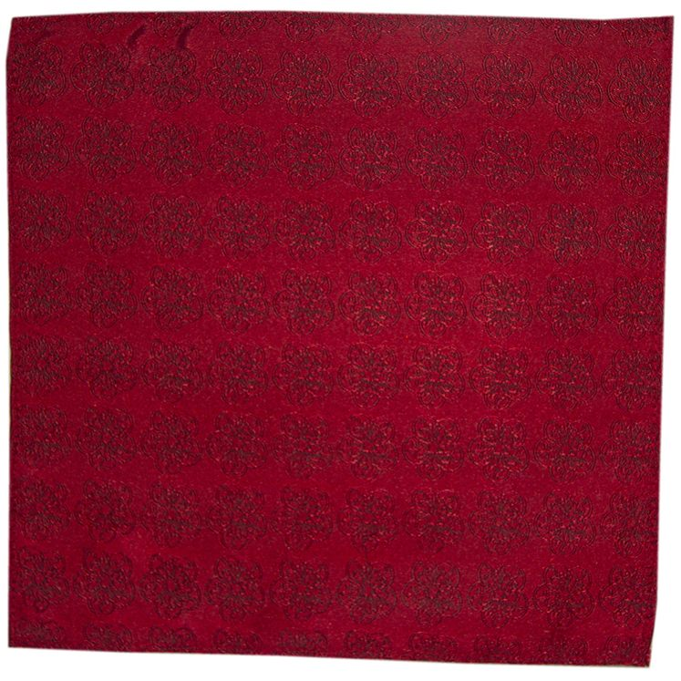 Pillar Box Red GB Logo Pocket Square